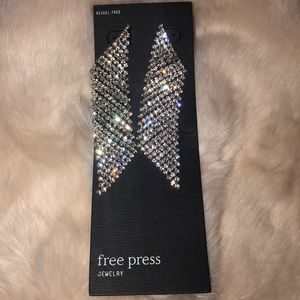 Free Press Chandelier Earrings Nwt
